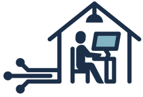 icon - House with Fast Internet