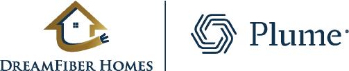DreamFiber Homes-Plume Logos